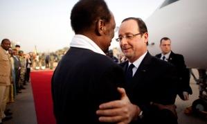 Francois Hollande, Diouncounda Traore